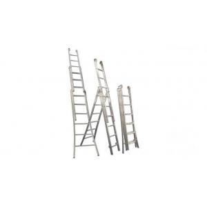 Escada Profissional 3 Lances 4 em 1 Alulev