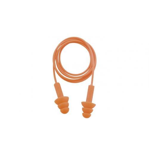 Protetor Auricular Plug Silicone Cordão PVC