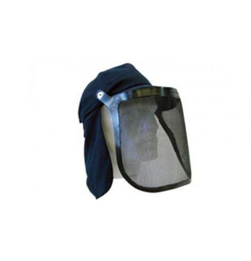 Boné Protetor Facial Protetor de Nuca 20 cm Azul