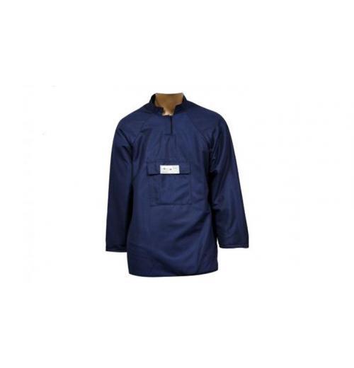 Camisa Florestal 8 Camadas Fibra Azul Tecmater